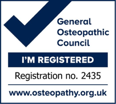General Osteopathis Council Registered